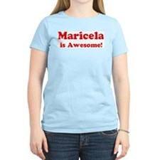 Maricela is Awesome Women's Pink T-Shirt