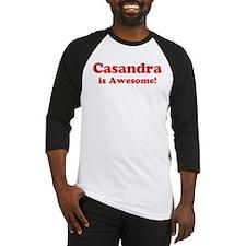 Casandra is Awesome Baseball Jersey
