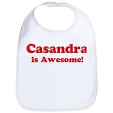 Casandra is Awesome Bib