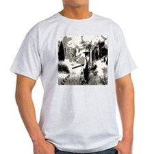 goin hunting / black and white T-Shirt
