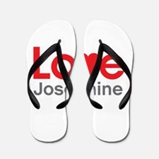 I Love Josephine Flip Flops