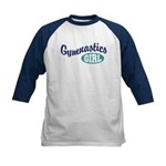 Gymnastics Girl Kids Baseball Jersey