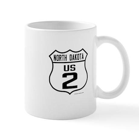 US Route 2 - North Dakota Mug
