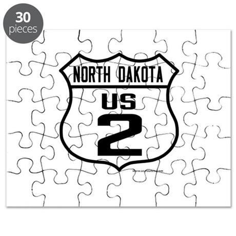 US Route 2 - North Dakota Puzzle