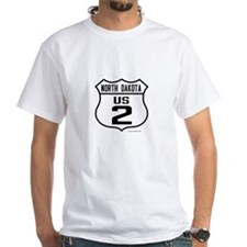 US Route 2 - North Dakota T-Shirt