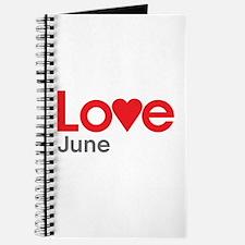 I Love June Journal