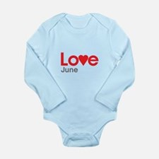 I Love June Body Suit