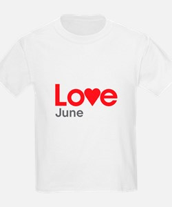 I Love June T-Shirt