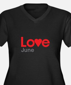 I Love June Plus Size T-Shirt
