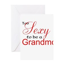 Sexy Grandmother Greeting Card