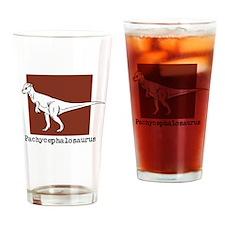 Pachycephalosaurus Drinking Glass