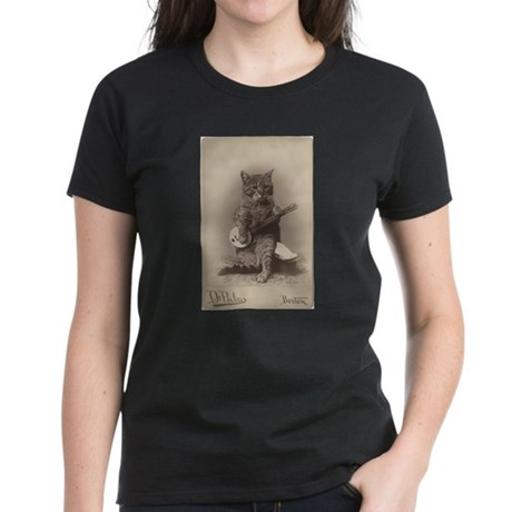 Cat Playing a Banjo T-Shirt
