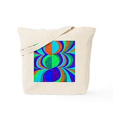 Groovy waves 1968 NO. 2 Tote Bag