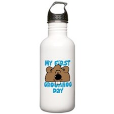 My First Grownd Hog Day Water Bottle