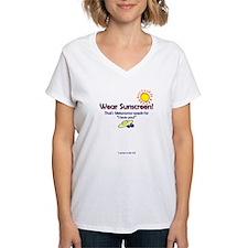 Wear Sunscreen Ash Grey T-Shirt