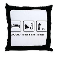 RC Car Throw Pillow