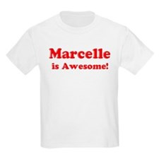 Marcelle is Awesome Kids T-Shirt