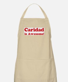 Caridad is Awesome BBQ Apron