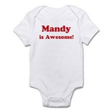 Mandy is Awesome Infant Bodysuit