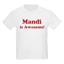 Mandi is Awesome Kids T-Shirt