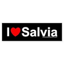 Salvia Bumper Sticker