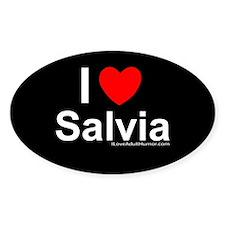 Salvia Decal
