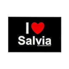 Salvia Rectangle Magnet