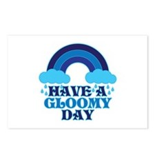 Gloomy Day Postcards (Package of 8)