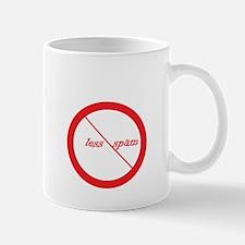 Less spam Mug