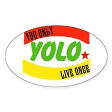 YOLO WORLD Decal