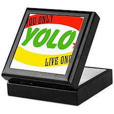 YOLO WORLD Keepsake Box
