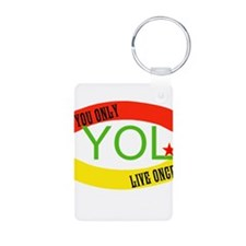 YOLO WORLD Keychains