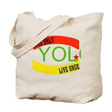 YOLO WORLD Tote Bag