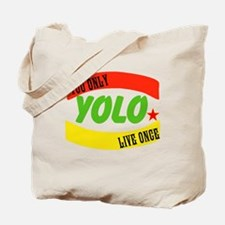 YOLO WORLD Tote Bag
