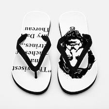 The Wisest Man - Thoreau Flip Flops
