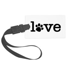 Pet love (white) Luggage Tag