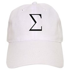 Greek Sigma Symbol Baseball Cap