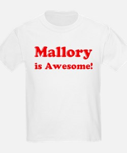 Mallory is Awesome Kids T-Shirt