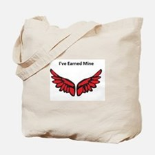 I've earned my redwings Tote Bag