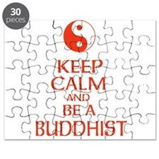 Keep calm and be a Buddhist. Puzzle