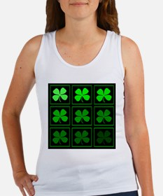 saint patricks day quad darkd Tank Top