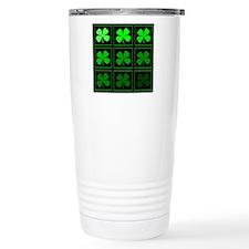 saint patricks day quad darkd Travel Mug
