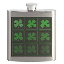 saint patricks day quad darkd Flask