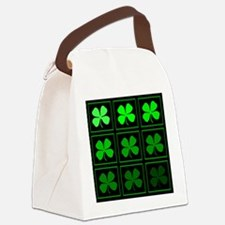 saint patricks day quad darkd Canvas Lunch Bag
