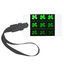 saint patricks day quad darkd Luggage Tag