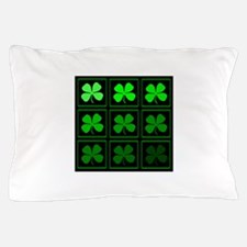 saint patricks day quad darkd Pillow Case