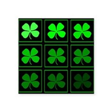 saint patricks day quad darkd Sticker