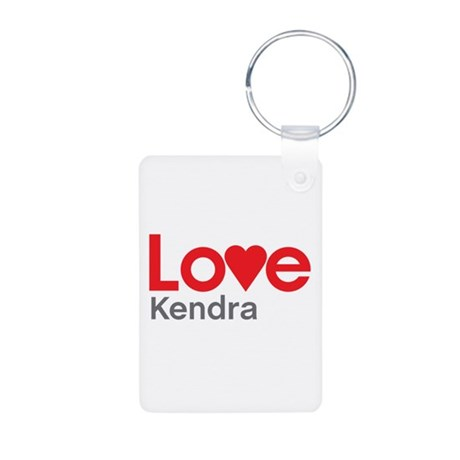 I Love Kendra Keychains