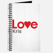 I Love Kris Journal