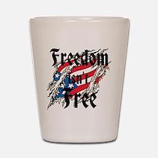 Freedom Isnt Free Shot Glass